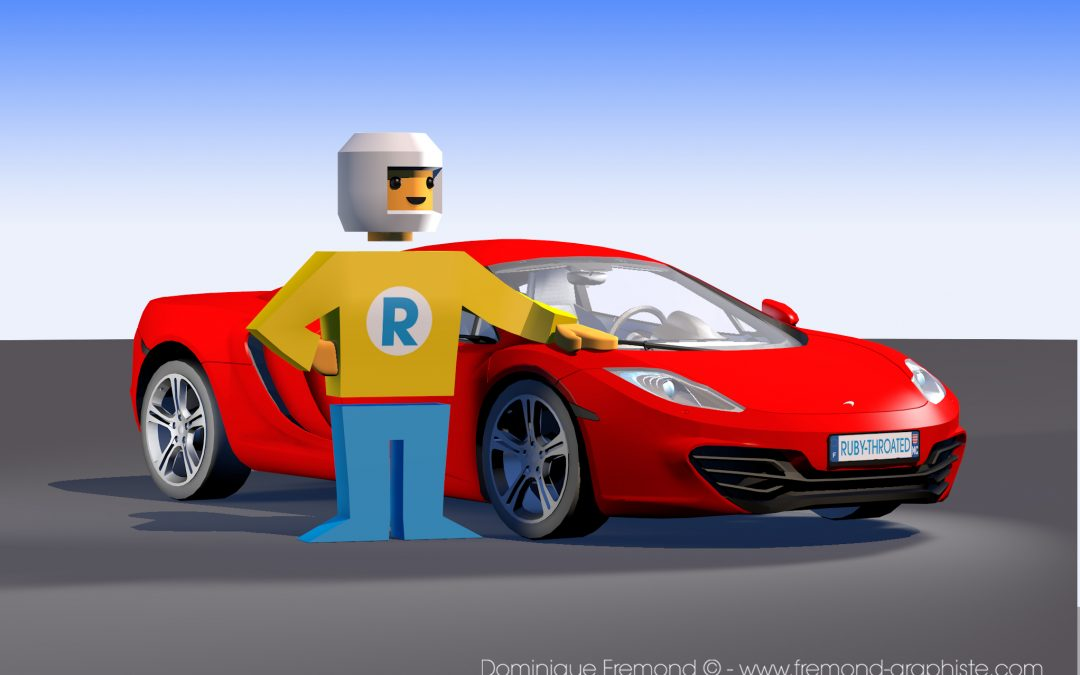3D Modeling – Toy and Sports Car